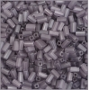 Rectangle Beads 5X2.6mm Square Hole Grey Luster Matte